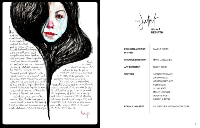 TheJulietMag - Creativedirectorletter